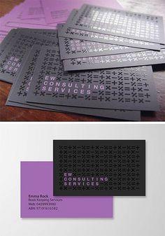 Creative Accountant Business Card #UniqueBusinessCards