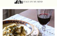 This week's blogger of the week is Paola from the lovely food blog, Italy On My Mind