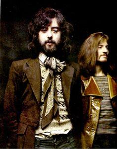 "soundsof71: ""Led Zeppelin: Jimmy Dandy and John Paul Jones, 1970 """
