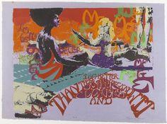 Barbara Jones-Hogu, 1970.  Screenprint on colored paper.  Brooklyn Museum: Contemporary Art: I'm Better Than These Motherfuckers