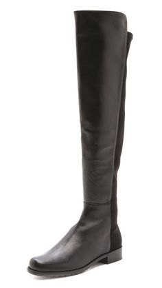 We're ready to bring back tall boots!