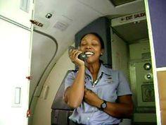 Southwest Airlines Flight Attendant Sings