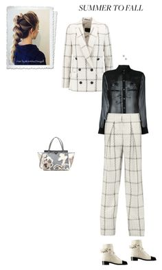 """""""Unbenannt #6695"""" by pretty-girl-in-fashion ❤ liked on Polyvore featuring By Malene Birger, Alexander Wang, Chanel, Lulu Frost and Valentino"""