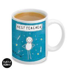 Personalised Purple Ronnie Male Teacher Mug | Personalised Mug