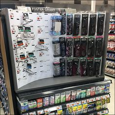 Here famous name eyewear is merchandised by a space-saving Foster-Grant Readers Endcap Display. But the space saved is not in footprint but in the vertical Price Chopper, Store Fixtures, Space Saving, The Fosters, Hooks, Eyewear, Butterfly, Retail, Shelves