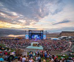 America's Coolest Music Venues: Gorge Ampitheater