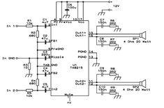 tda1554 audio amplifier circuits circuits pinterest circuits rh pinterest com