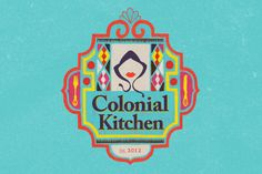 Branding and marketing material for Colonial Kitchen, a deli/coffee shop in South Africa.