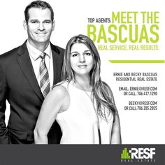 Meet the Bascuas! For this Husband and Wife Realtor Team, it's all about being together and doing what we love that led to our Success - selling Real Estate! #topagent #resf #realestate