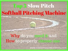 After you learnt the importance and how to choose your slow pitch softball pitching machine, it is time to get yours.   Here are TOP 5 recommended on Amazon:  http://www.awesomesoftballdrills.com/top-5-slow-pitch-softball-pitching-machines/  #slowpitchsoftballpitchingmachine #softballpitchmachine #softball #pitchingmachine #awesomesoftballdrills
