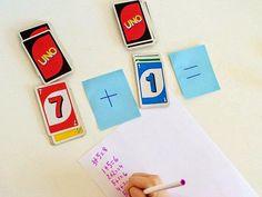 Psicopedagogia Salvador: Utilize o jogo UNO para exercitar as operações mat...