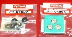 Set di PULEGGE per modelli RC FERRARI F1 scala 1/8 KYOSHO