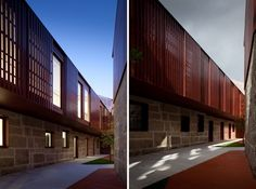 Repurposing a leather factory in Portugal -- University of Minho.  by Pitagoras Arquitectos