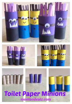 Dave the Minion Toilet paper minions evil minions craft