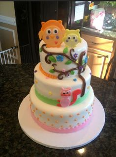 Happi Tree Baby Shower Cake