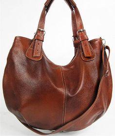 LEATHER HOBO BAG Brown Cross Body Bag Leather Shoulder Bag Leather Handbag #ad#leatherbag