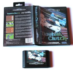 Sega Mega Drive Spiel Double Clutch in OVP
