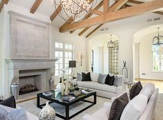 Kim Kardashian house; living room; seasonal coloring; color palette / Image source: eonline.com