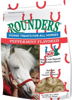 Peppermint Rounders Horse Treat 30 oz. -- Click image to review more details. (This is an affiliate link and I receive a commission for the sales)
