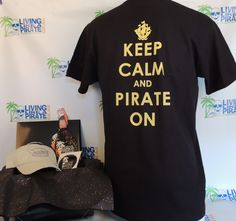 Living like a Pirate tshirt :) I need this for Piratefest!