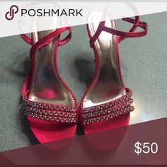 Heels Really pretty! Only worn once! In great condition! Still in box De blossom collection  Shoes Heels