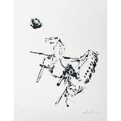 "Limited Edition Print, ""Warrior on Horseback"" // whitesmercantile.com"