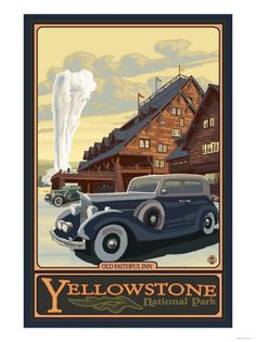 Yellowstone - Old School family road trips are the vacations I want to take my son on.
