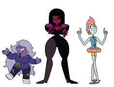 The Crystal Gems [Pilot Style] by StarTrippy on DeviantArt