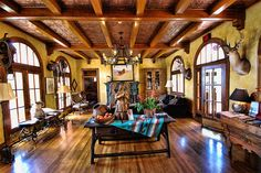 Gage Hotel Lobby   Flickr - Photo Sharing!