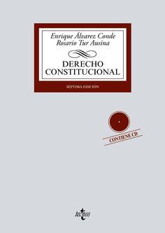 Derecho constitucional / Enrique Álvarez Conde, Rosario Tur Ausina