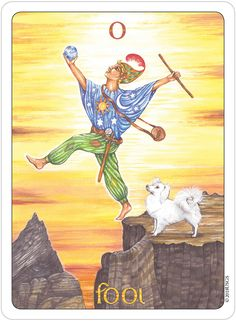 March 21 Tarot Card: The Fool! (Gill deck) Let go of expectations and trust your instincts Major Arcana Cards, Tarot Major Arcana, Tarot Decks, Clowns, Tarot The Fool, Rider Waite Tarot, Tarot Card Meanings, Oracle Cards, Deck Of Cards