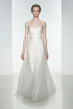 Christos - Spring 2015 @Christabelle Lavarro Vie Bridal Couture www.belleviebridalcouture.com