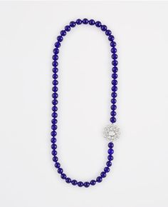Primary Image of Glass Beaded Brooch Necklace