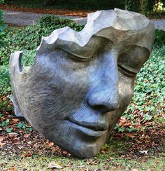 Face sculpture by ruthhallam, via Flickr