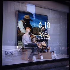 father's day window display - Google Search
