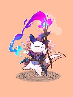 Fantasy Character Design, Character Drawing, Character Design Inspiration, Character Concept, Dungeons And Dragons Characters, Dnd Characters, Fantasy Characters, Cute Animal Drawings, Cute Drawings