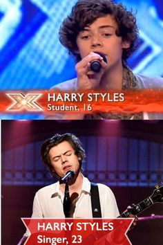 Harry Styles beginning to current ❤️❤️