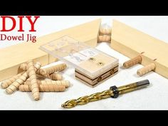 DIY Simple Dowel Jig - YouTube