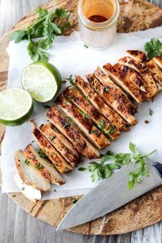 Easy All Purpose Chipotle Chicken | http://www.carlsbadcravings.com/chipotle-chicken-rub-marinade-recipe/