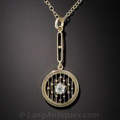 Antique Diamond Pendant 795