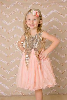 Pink Sequin Sparkle Dress for girls - toddler dress - easter girl dress - birthday dress - photo shoot - model - princess dress girl