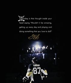 Crosby quote <3