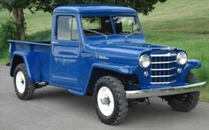 1951 Willys Jeep Pickup, Jeep Truck for Sale - Trucks Image Gallery Jeep Willys, Willys Wagon, Classic Pickup Trucks, Old Pickup Trucks, Ford Classic Cars, 4x4 Trucks, Lifted Trucks, Jeep Pickup, Jeep Truck