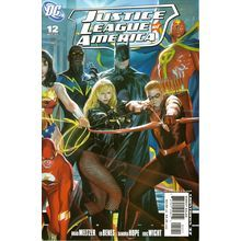Justice League of America #12. Cover by Alex Ross.