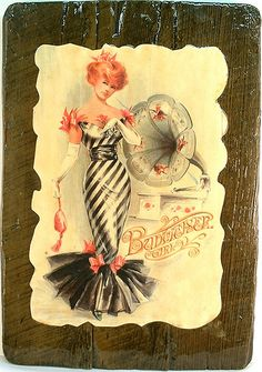 Budweiser-Girl-sign-1970s | Flickr - Photo Sharing!
