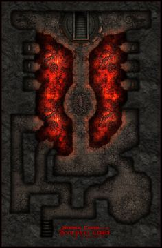 Infernal Chasm of the Scorpion Lord by Neyjour.deviantart.com on @DeviantArt