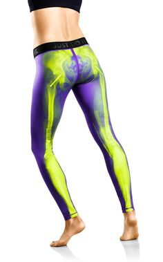 Nike has released a line of performance tights which feature x-ray images of bones. The tights are made from spandex and is equipped with Nike's Dri-FIT feature to absorb deal […] Nike Outfits, Fashion Outfits, Fashion Fashion, Runway Fashion, Fashion Trends, Workout Attire, Workout Wear, Workout Pants, Workout Style