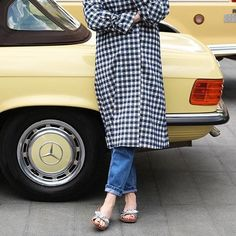 We're calling it: driving coats are the new driving shoes
