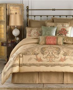 Croscill Normandy King Comforter Set - Bedding Collections - Bed Bath - Macy's