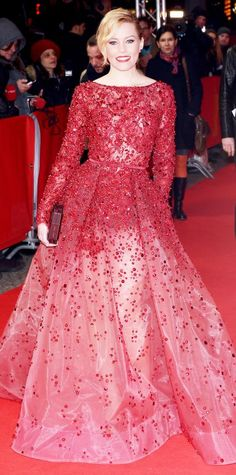 Look of the Day - February 09, 2015 - Elizabeth Banks in Elie Saab Haute Couture from #InStyle